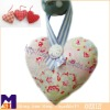 elegant hanging heart decoration for wedding,decorative hanging heart