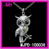 wholesale fashion metal owl pendant