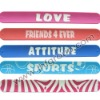 hot beautiful custom silicone rubber bracelets
