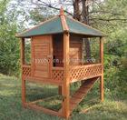 Eco-friendly Wooden Garden Rabbit House For Sale