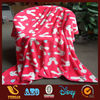 100% polyster fabric cheap flannel fleece blanket