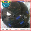 black color inflatable water walker ball