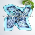 new twill silk square scarf 90x90cm-HA55901