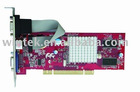 HIGH QUALITY ATI 9000 PCI 64M DDR Video card for multiple