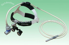 medical optical head lamp with loupe surgical magnifier