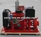 38m lift head,182m3/h capacity,water cooled self-priming farm irrigation swage diesel water pump 4inch