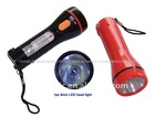 Rechargeable LED flashlight with 1pc side LED light