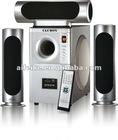 Hot sales 3.1 multimedia home cinema speaker system 6030