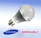 Clear Lens cUL UL DIMMABLE BULB LED GLOBAL 9W 65W Halogen REPLACEMENT