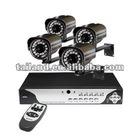 4ch network standalone dvr & 4pcs 520tvl ir camera cctv system