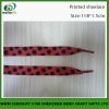 2013 red sublimation polyester shoelace