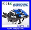 New design bike helmet camera for hardcore skaters, motorcyclists, bikers EJ-DVR-41C2