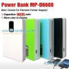 Rechargeable power pack 6600MAh