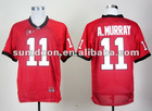 Georgia Bulldogs #11 Aaron Murray red ncaa football jerseys size 48-56 mix order free shipping