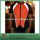 orange reflectitive material short-sleeves workwear