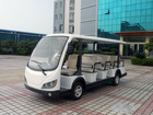 8 seats passenger shuttle bus,electric tour coach bus,electric shuttle bus,ac motor sightseeing bus, with gear box- LQY083AN-new