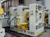Hydraulic wheel flaring machine
