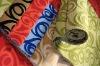 Flock on Flock Fabrics