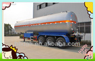Special design top 50cbm lpg semi trailer truck