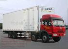 FAW 8x4 refrigerator freezer truck