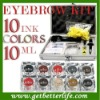 Professional permanent Makeup kit/pigment for Eyebrow