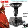Wide angle hd portable car camcorder