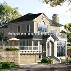modular villa, modern villa, well design villas, steel prefab villa