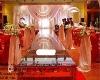 wedding glass stage