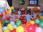 17 latex balloons/latex balloons/DIN Norm EN 71-3 / SGS TEST