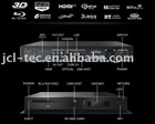 3D Full High definition 1080P Player Based on Sigma Designs 8642 Support H.264 mkv ims wifi