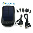 MIDTE High-Quality solar AA/AAA battery charger +LED Flashlight+cellular phone charget