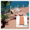 water-proof wood plastic composite hollow and groove decking