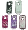 Luxury Rhinestone Bling Aluminium Hard Case For Apple iPhone 5