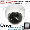 Home CCTV H.264 4mm lens 2.0 Mega Pixel DOME IP Network Camera Support Phone View
