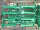 plastic spraying highway guarail flange posts