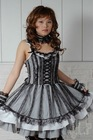 Dolly Gothic Punk Lolita Lace Party Dress 61153