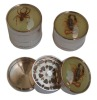 Insect Metal Tobacco Grinder