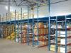 Warehouse multi-level mezzanine rack