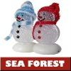 (Hot) Christmas Gift USB Snowman