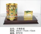 Pen Vase with Card Holder