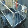 hot sale - different size galvanized trailer cage