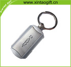 hot sell square zinc alloy key chain