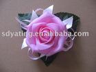 artificial flower,red rose,big flower,PE flower