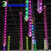 3D effect led falling snow light tube