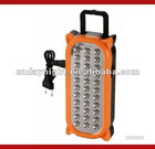 33LED plastic Portable rechargeable led lamp