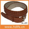 Fashion Chocolate Brown Glitter Belt