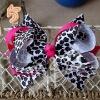 Animal printing Hair bows MYAP-003