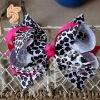 Animal printing Hair bows MYAP-003