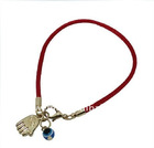 Kabbalah Red Bracelet with Hamsa Hand and Evil Eye