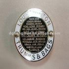 two-double round belt buckle